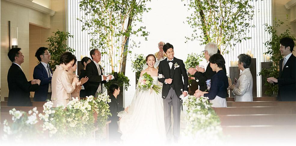 家族挙式 当日の流れ